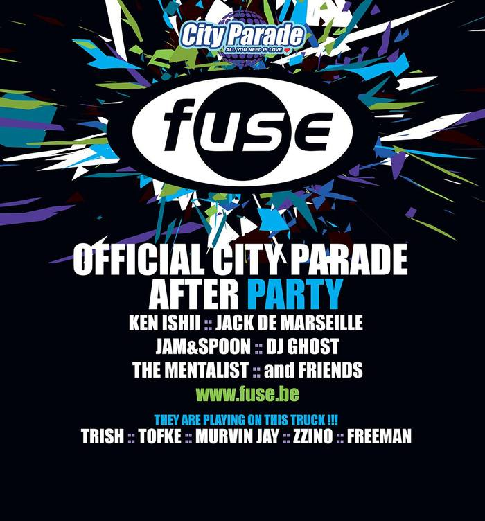Official city parade after party   fuse